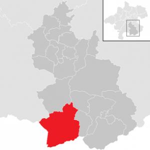 Karte Hinterstoder