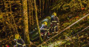 Feuerwehr und Bergrettung üben gemeinsam