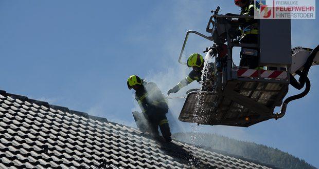 Wohnhausbrand in Hinterstoder