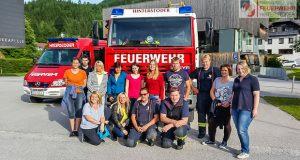 Feuerlöscher Schulung Hinterstoder 2017