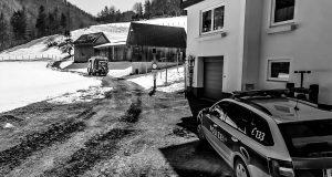 Brandeinsatz in Hinterstoder