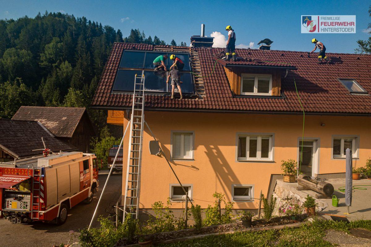 Brandverdacht Solaranlage