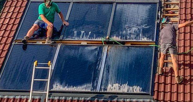 Brandeinsatz Solaranlage