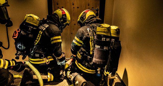 Übung Zimmerbrand Alprima Aparthotel