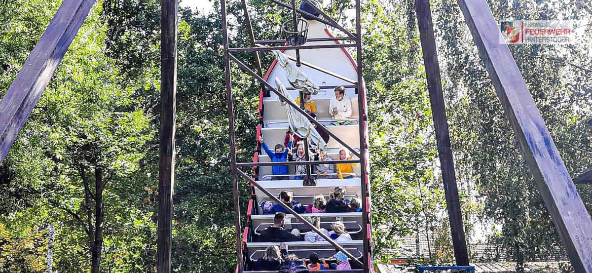Feuerwehrjugend Hinterstoder im Bayernpark