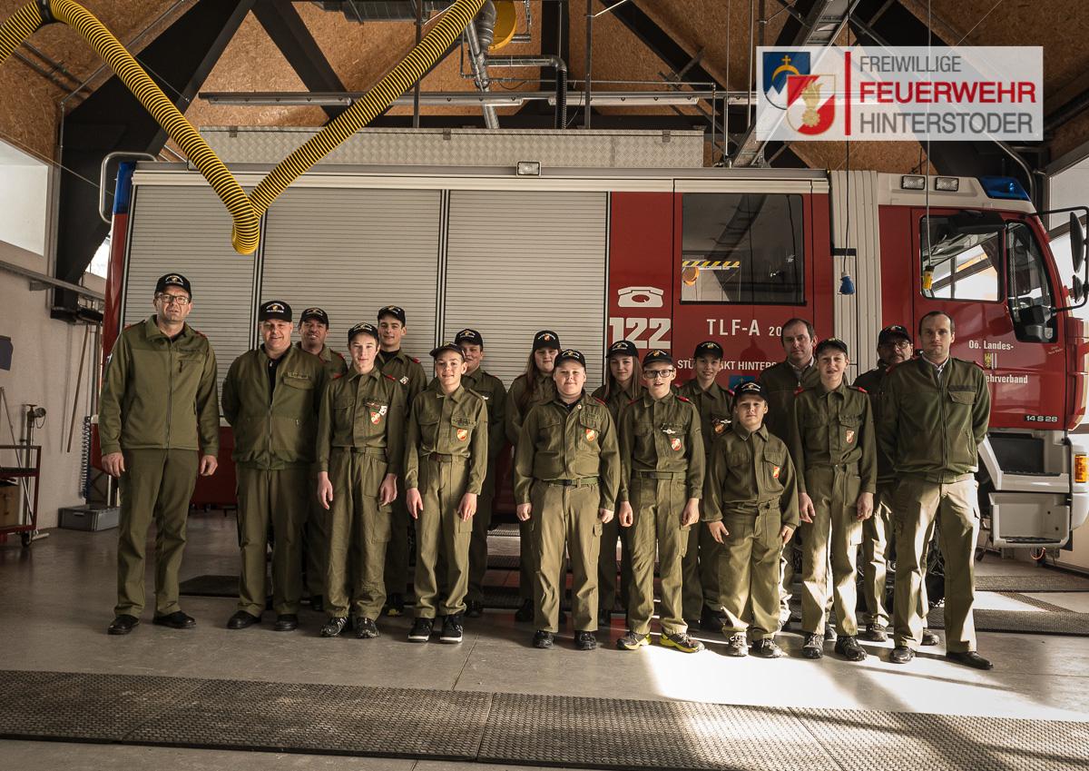 Erprobung Feuerwehrjugend 2020 Hinterstoder