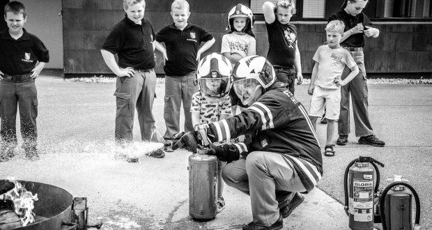 Kindernachmittag Feuerwehr Hinterstoder