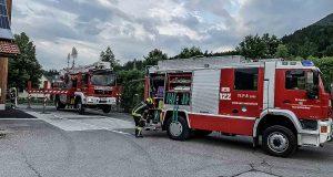 Übung Nahwärme Hinterstoder - Hubsteiger Spital am Pyhrn